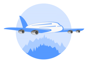 airline logo 300x214